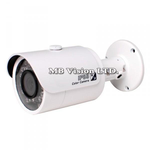 HD камери HD-CVI Dahua - 1.4 MP HD-CVI булет камера Dahua, фиксиран обектив, IR до 20m - HAC-HFW2120S