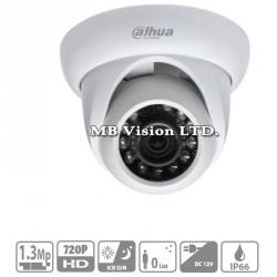 2.4MP HD-CVI куполна камера Dahua за външен и вътрешен монтаж, IR до 20м HAC-HDW2220М