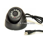 Куполни аналогови камери - Куполна, вандалоустойчива камера, резолюция 800TVL, IR до 20 метра - Avision AVS-W4203