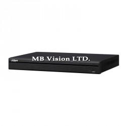 Tribrid ДВР рекордер Dahua с 8 видео и 4 аудио входа за аналогови, IP и HD-CVI камери, 2 слота за хард диск HCVR4208A-S3