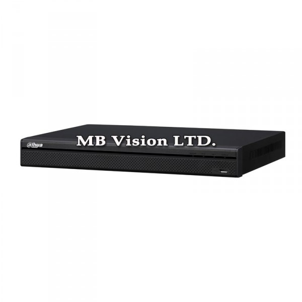 DVR с 16 канала - Tribrid ДВР рекордер Dahua с 16 видео и 4 аудио входа за аналогови, IP и HD-CVI камери, 2 слота за хард диск HCVR4216A-S