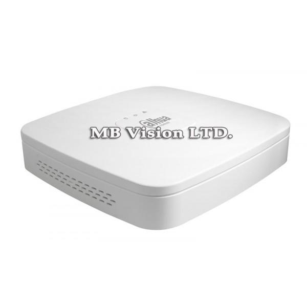 HD NVR рекордери Dahua - 4-канален NVR рекордер Dahua с 4 PoE LAN порта NVR2104-P-4KS2